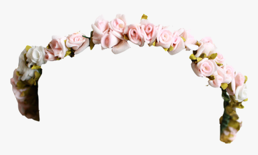 Cut Flowers,pink,hair Orchid,floral Design - Flower Crown Tumblr Png, Transparent Png, Free Download