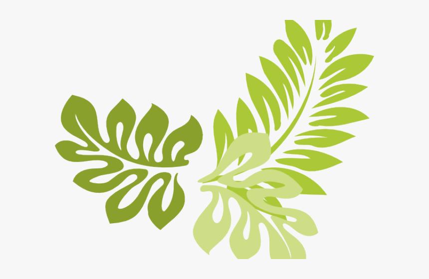 Transparent Jungle Frame Clipart - Green Leaves Border Clip Art, HD Png Download, Free Download