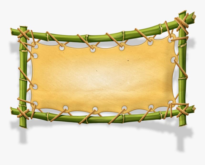 Jungle Frame Png, Transparent Png, Free Download