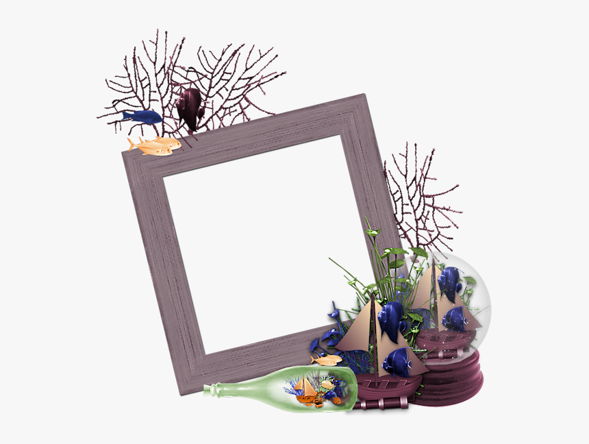Transparent Title Frame Png - Delphinium, Png Download, Free Download