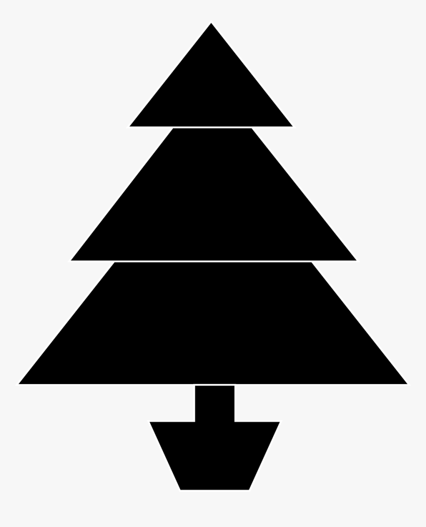 Transparent Christmas Tree Clip Art Black And White - Christmas Day, HD Png Download, Free Download