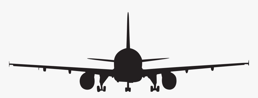 Airplane Moscow Aircraft Clip Art Silhouette Transparent