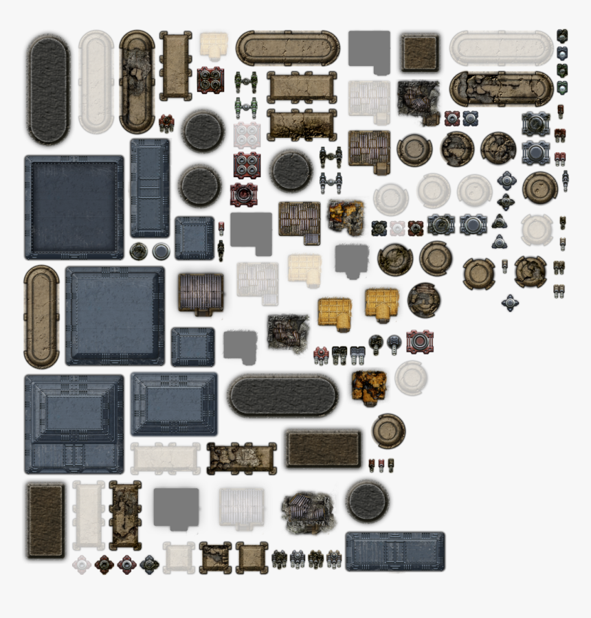 Preview - Top Down Buildings Sprites, HD Png Download, Free Download