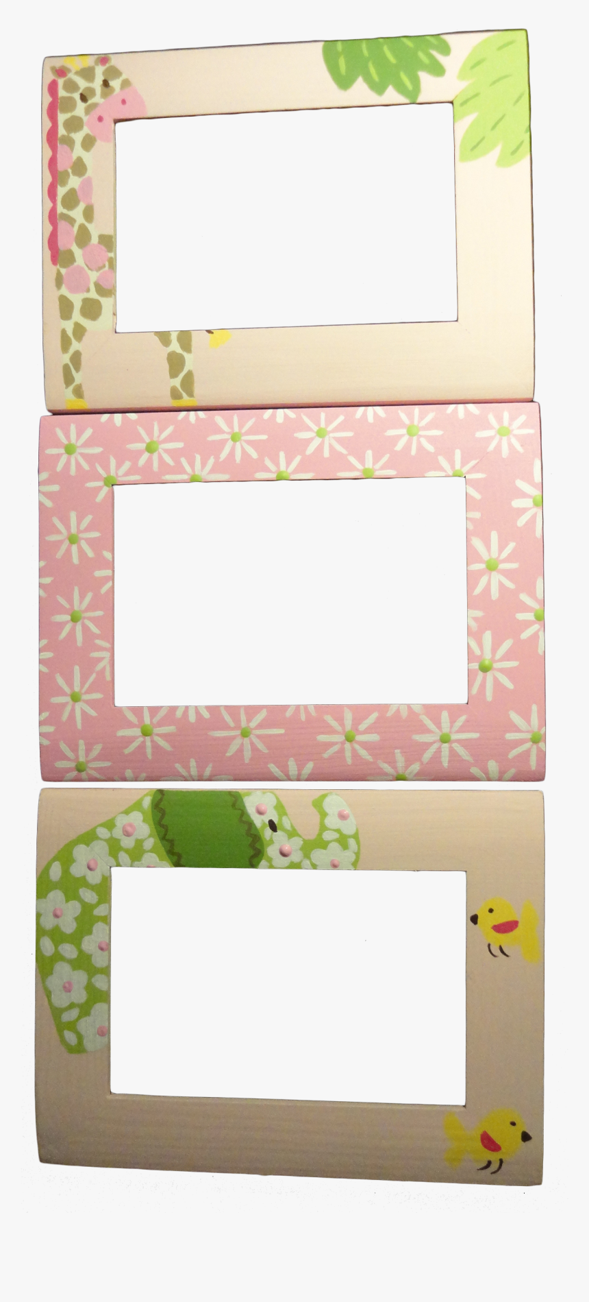 Hanging Pink Picture Frame Transparent, HD Png Download, Free Download