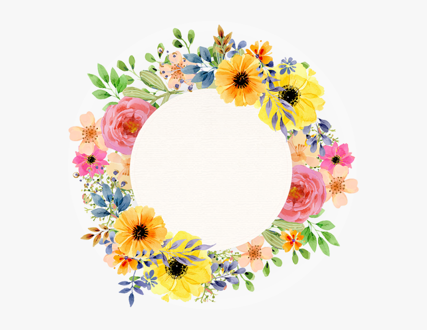 Transparent Border Vector Png - Frame Vintage Flower Png, Png Download, Free Download