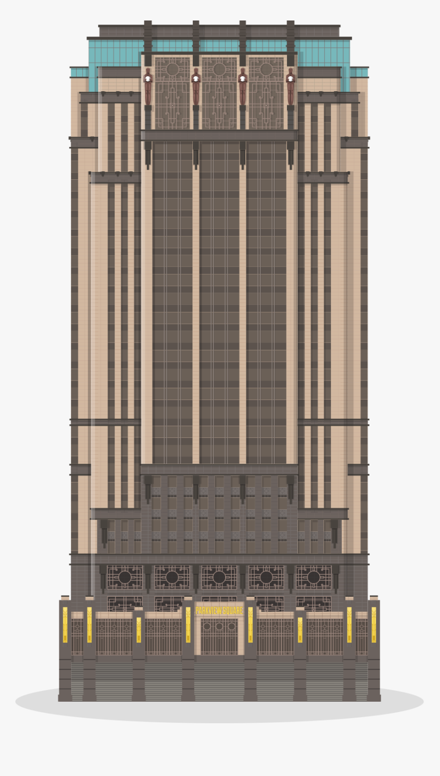 Art Deco Building Singapore, HD Png Download, Free Download