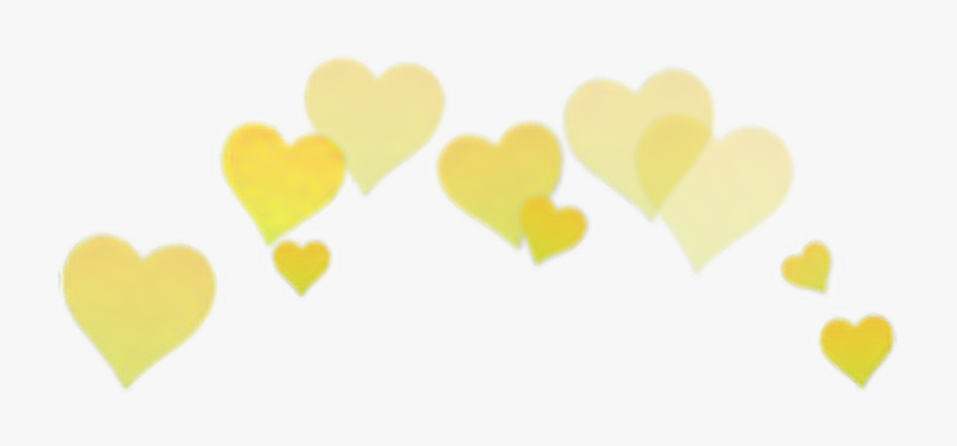 #amarillo #yellow #hearts #crown #cute #tumblr #png - Wholesome Memes Hearts Png, Transparent Png, Free Download