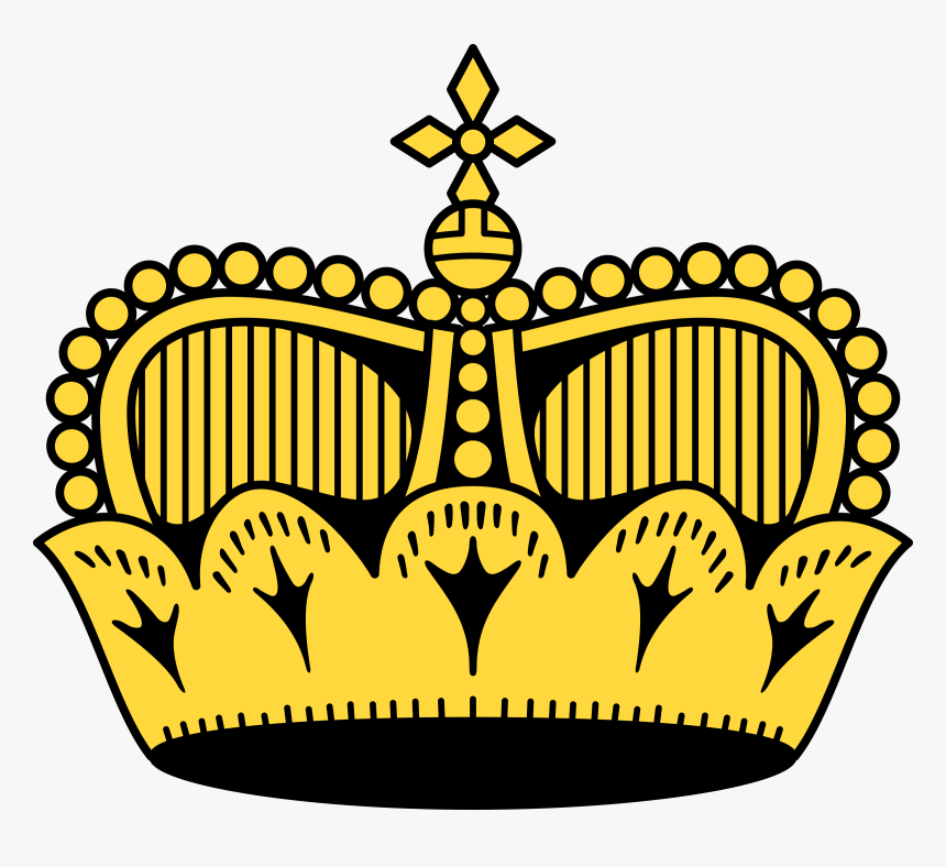 Crown 11 Clip Arts - Liechtenstein Crown, HD Png Download, Free Download