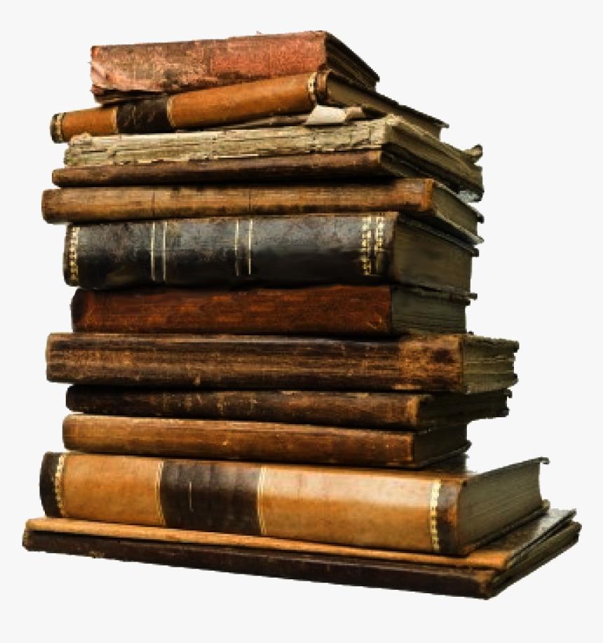 Transparent Book Stack Png - Old Books Transparent Background, Png Download, Free Download