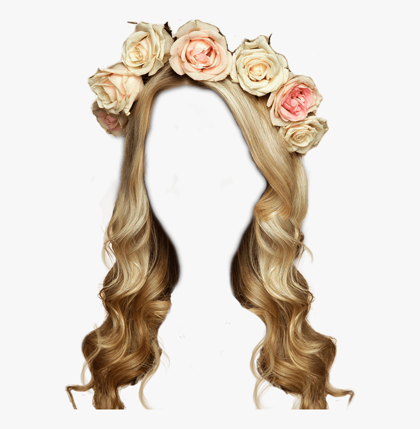 Transparent Hair Flower Png - Women With Flowers In Their Hair, Png Download, Free Download