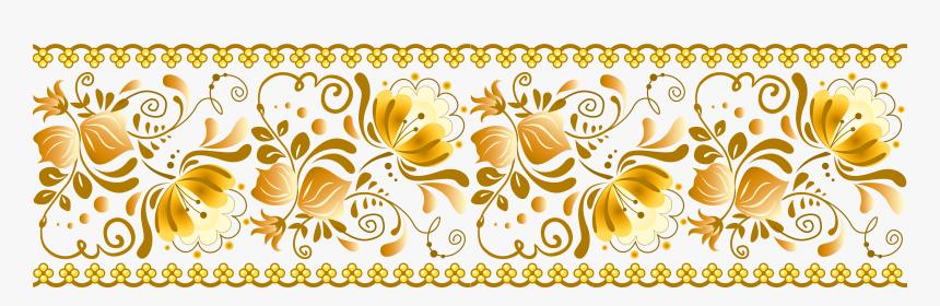 Yellow Png Transparent Yopriceville - Decorative Transparent Design Png, Png Download, Free Download