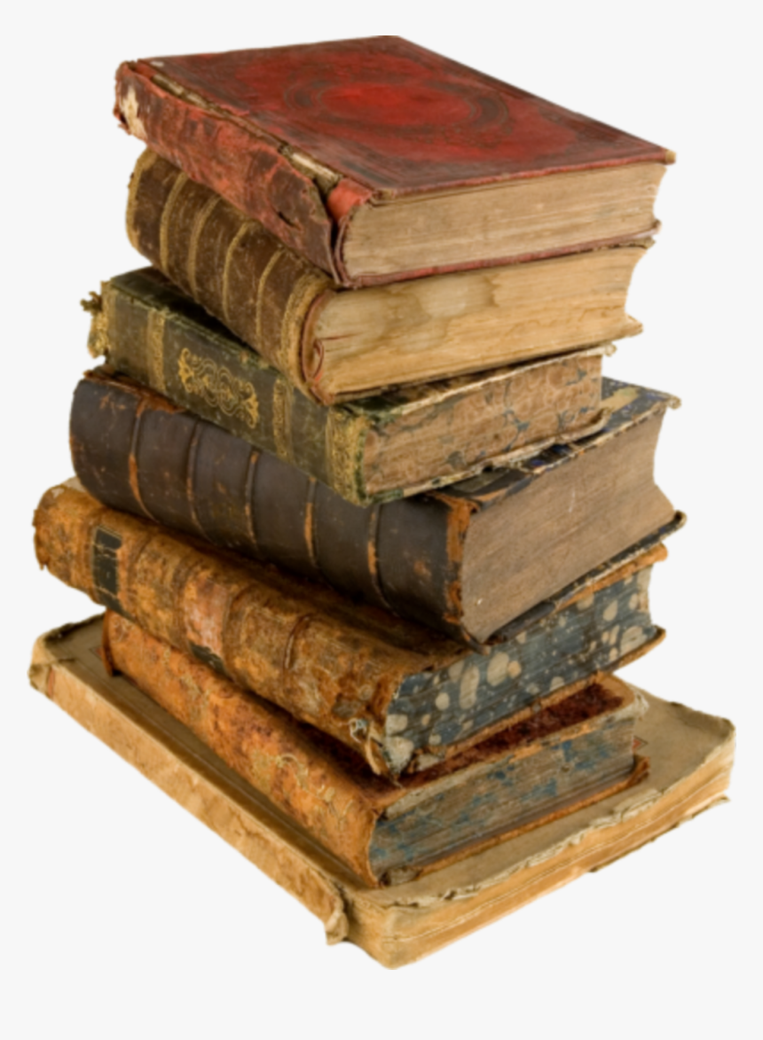 Book Png Free Download - Old Book Stack Png, Transparent Png, Free Download