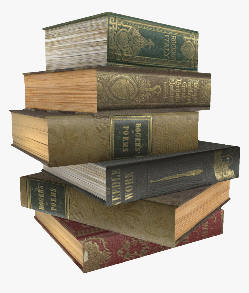 Book Stack Gratis - Stack Of Books, HD Png Download, Free Download