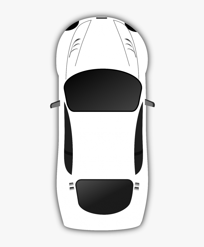 Cartoon Car Png White Color Transparent Background - Car Without Background Png, Png Download, Free Download