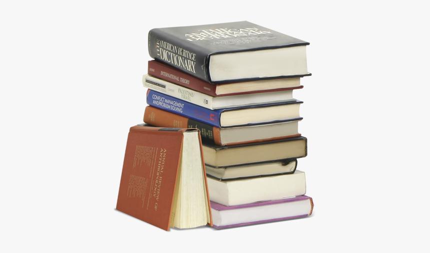 Book Fish Lamp - Pile Of Books Png, Transparent Png, Free Download