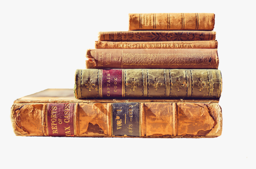 Books, Read, Literature, Book Stack, Pitched, Old Books - Transparent Background Old Books Png, Png Download, Free Download