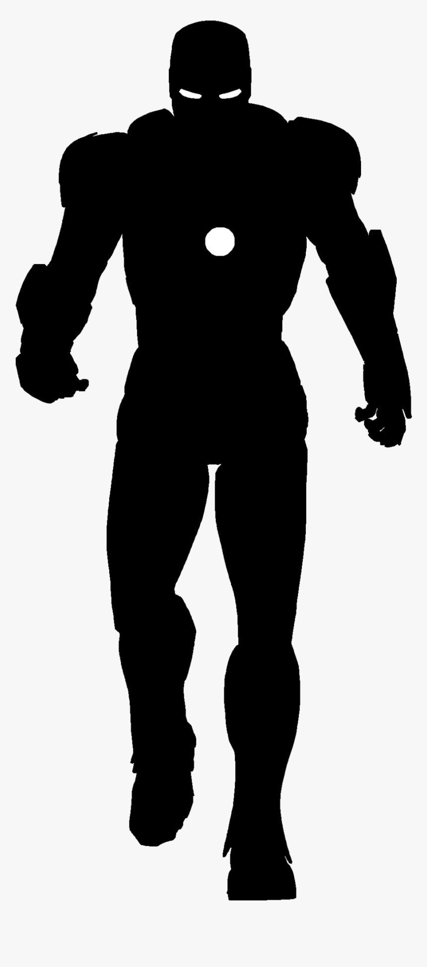 Iron Man Silhouette - Iron Man Silhouette Png, Transparent Png, Free Download