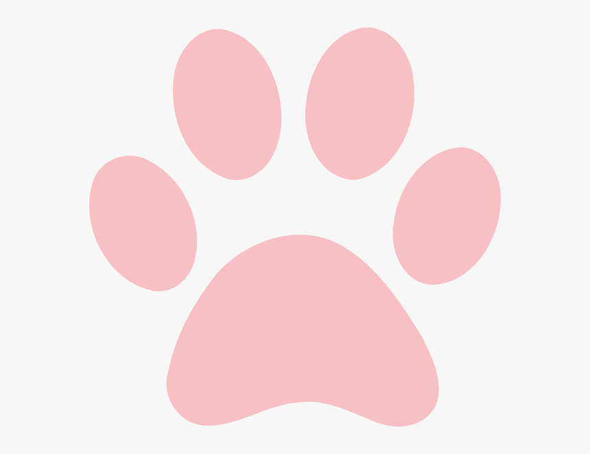 Red Paw Print Clip Art, HD Png Download, Free Download