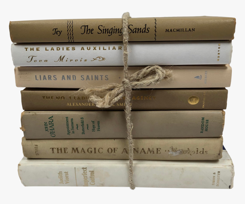 Stack Of Vintage Books, HD Png Download, Free Download