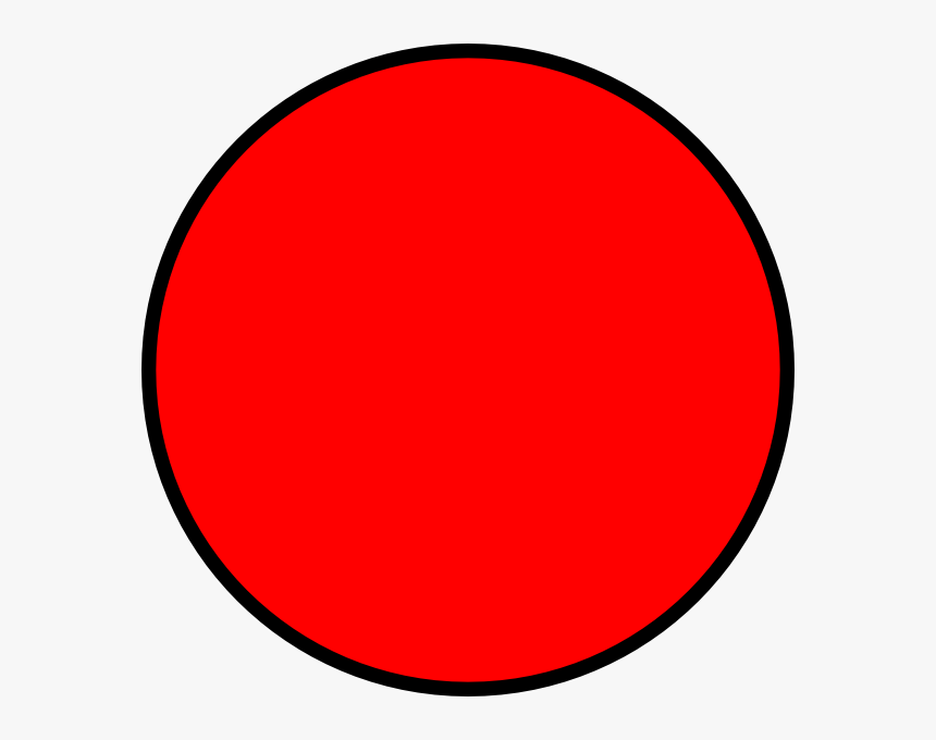 Red Circle Clear Background Clipart - Red Circle Clipart, HD Png Download, Free Download