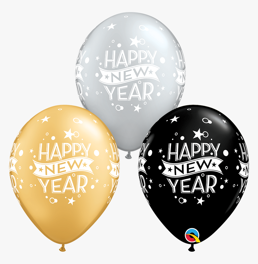 New Years Balloons Transparent, HD Png Download, Free Download