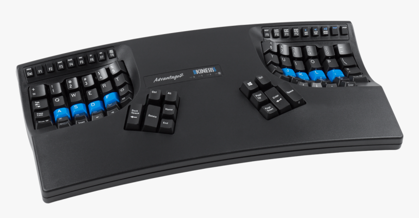 Advantage2 Ergo Keyboard - Kinesis Advantage 2 Keyboard, HD Png Download, Free Download
