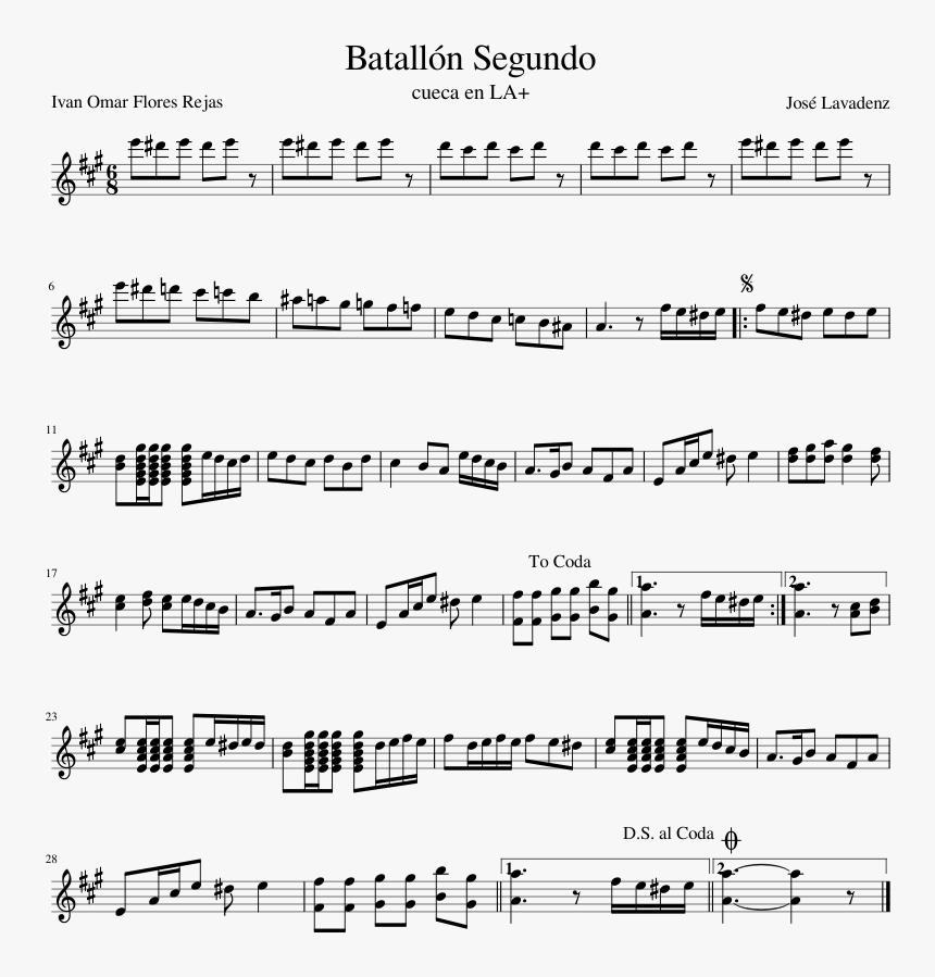 Bonetrousle Clarinet Sheet Music, HD Png Download, Free Download