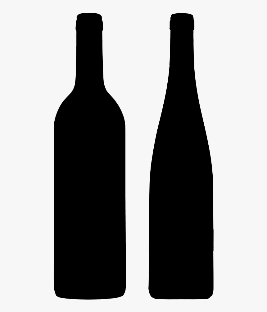 Mixed Wine Club - Wine Bottle Silhouette Png, Transparent Png, Free Download