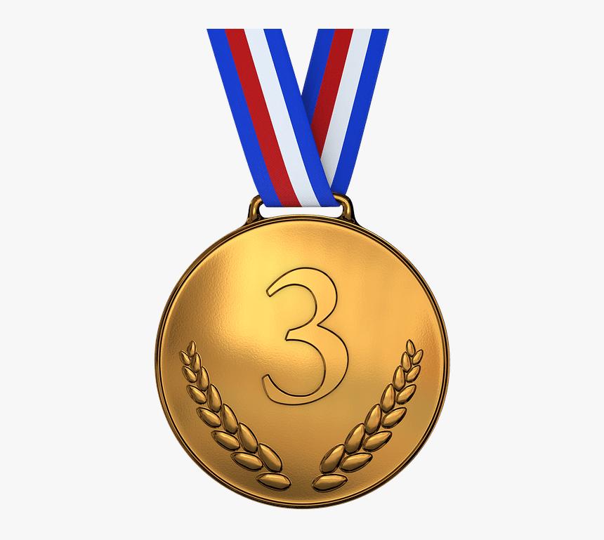 Illustration Medal Bronze Award Championship - Gold Medal Transparent Background, HD Png Download, Free Download