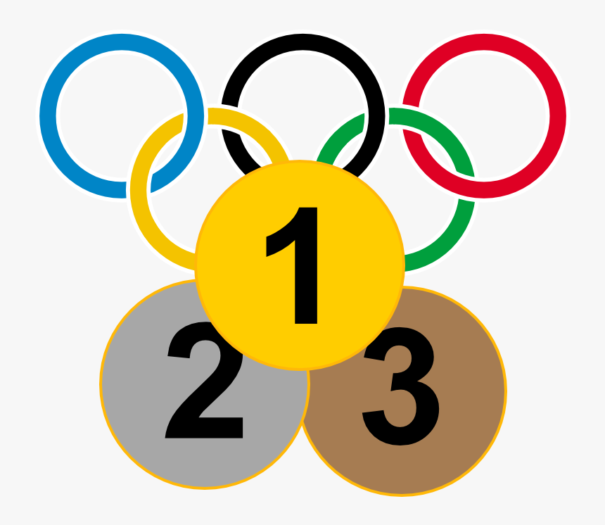 3 Olympic Medal Icon - Olympic Games Colours, HD Png Download, Free Download