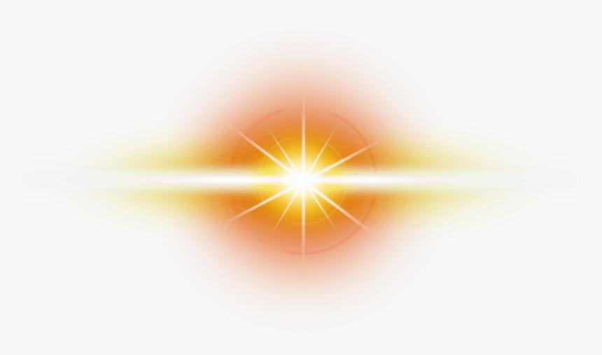 Orange,yellow,light,lens Object,sun - Circle, HD Png Download, Free Download