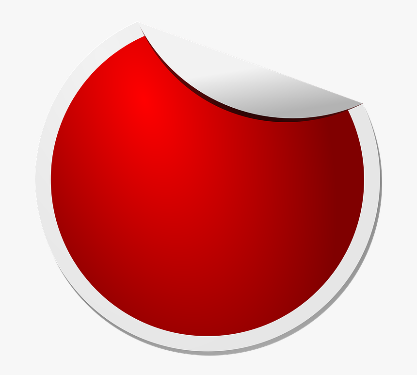 Label, Sticker, Red, Peeling, Sale, Sellout, Badge - Red Sticker Icon Png, Transparent Png, Free Download