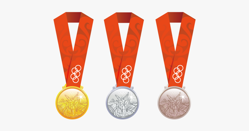 Clip Art Gold Medal Bronze Clip - Olympic Gold Medal Cartoon, HD Png Download, Free Download
