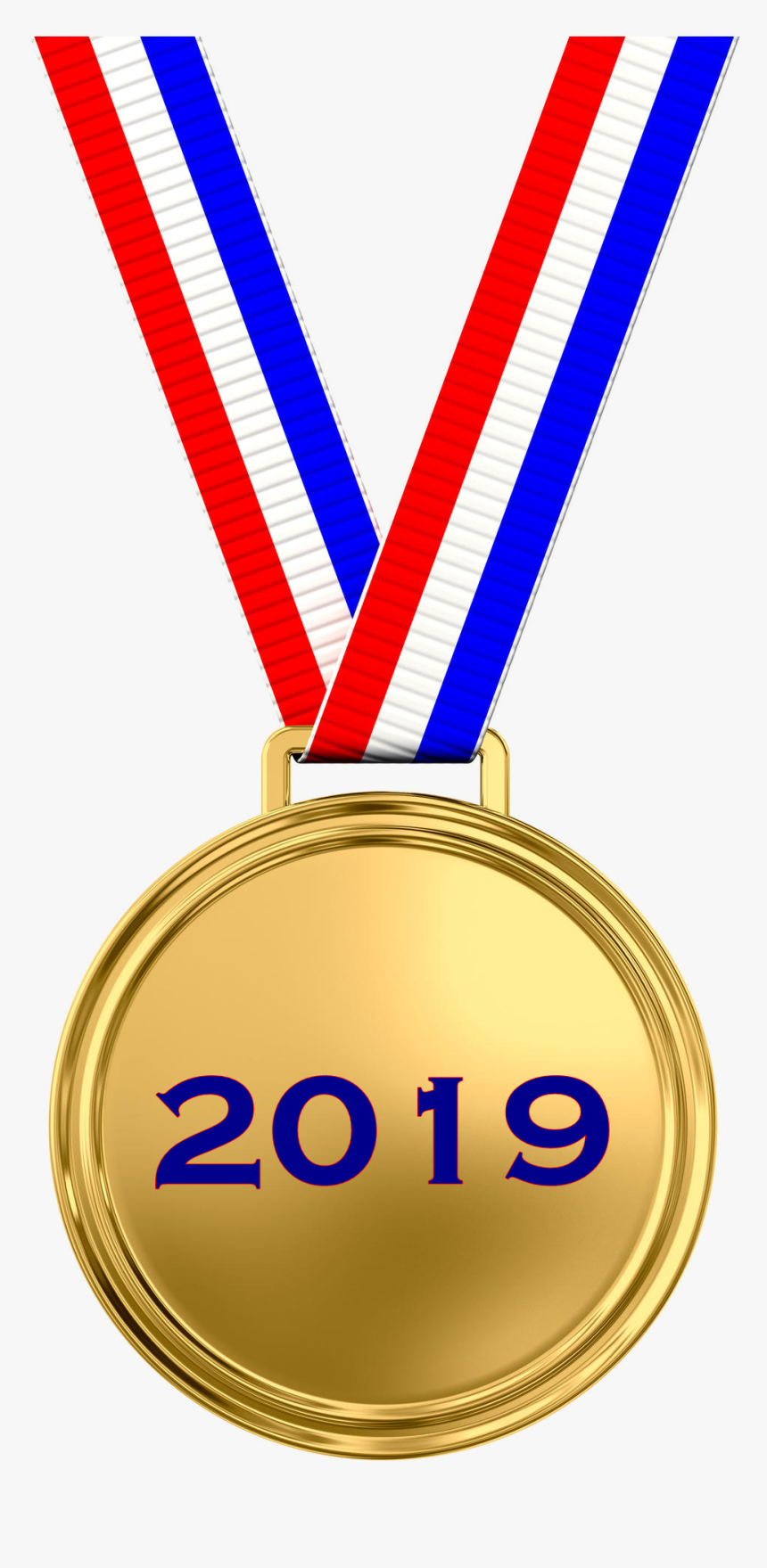 Gold Medal Png Image File - Medal For Putting Up With Me, Transparent Png, Free Download