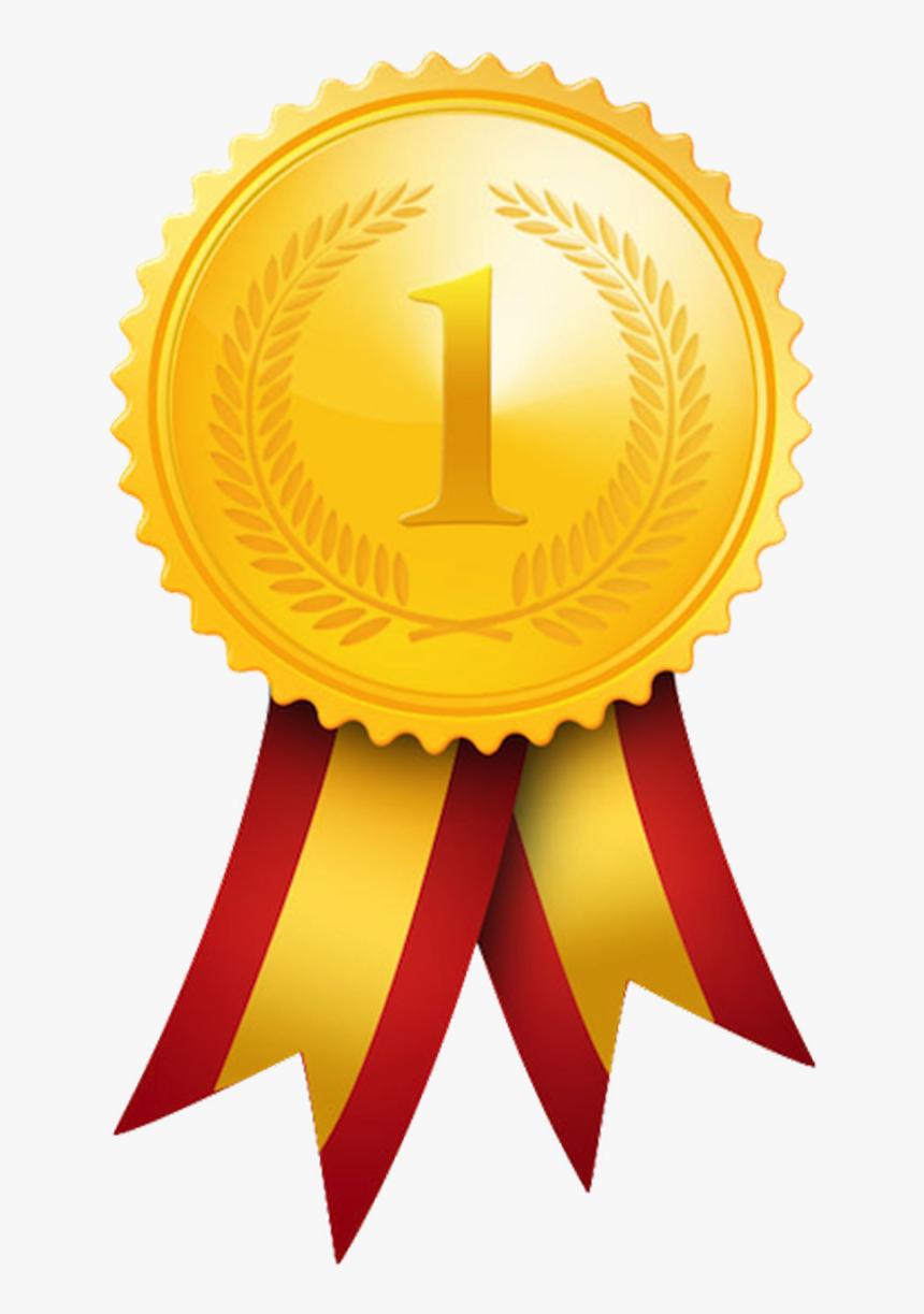 Gold Medal Olympic Medal Award Clip Art - Winner Medal Png, Transparent Png, Free Download