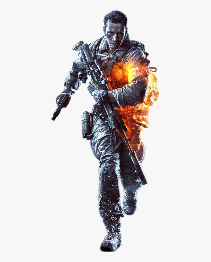 Transparent Background Battlefield Character Png, Png Download, Free Download