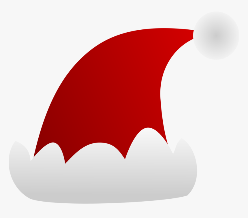 Transparent Santa Claus Hat Clipart - Santa Cap Clip Art, HD Png Download, Free Download