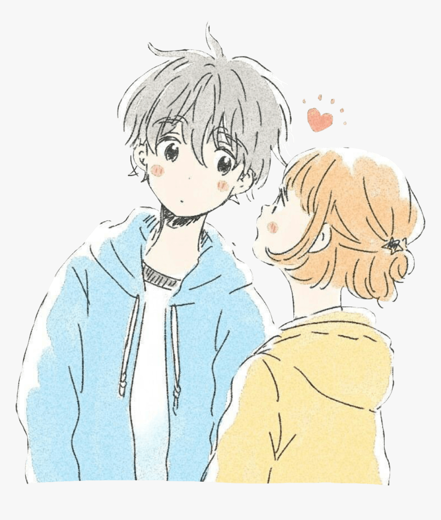 Transparent Cute Anime Boy Png - Cute Anime Couple Pictures Hd, Png Download, Free Download