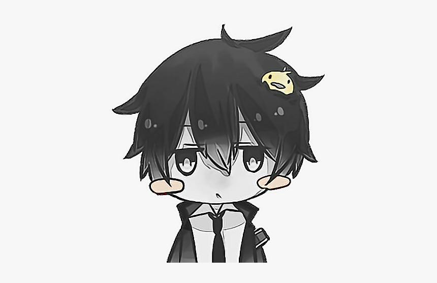 #anime #kawaii #pollito #animeboy #cute #manga #freetoedit - Profile Picture Anime Boy, HD Png Download, Free Download