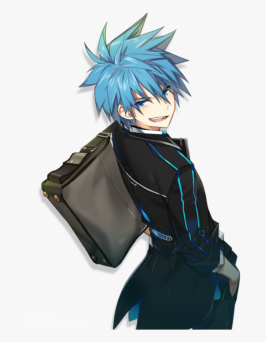 Nata Cute Boy Drawing, Anime Guys, All Anime, Rpg, - Anime Boy With Blue Hair, HD Png Download, Free Download