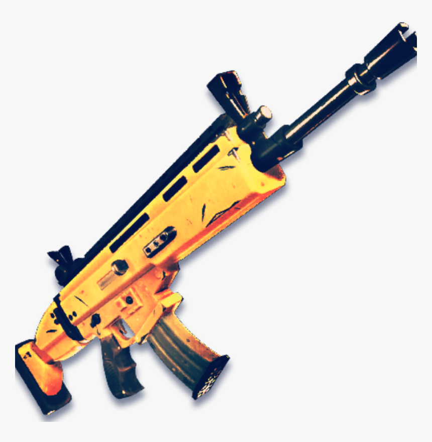 Scar Gun Fortnite, HD Png Download, Free Download