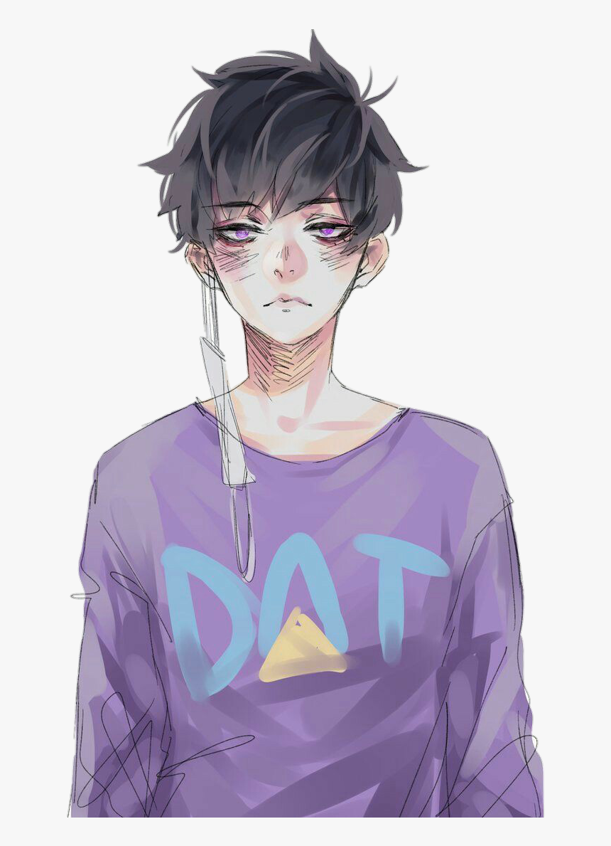 anime #animeboy #cute #purple #animeaesthetic - Cute Anime Boy