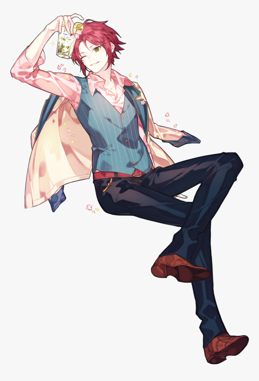 Handsome Anime Guy Full Body, HD Png Download, Free Download