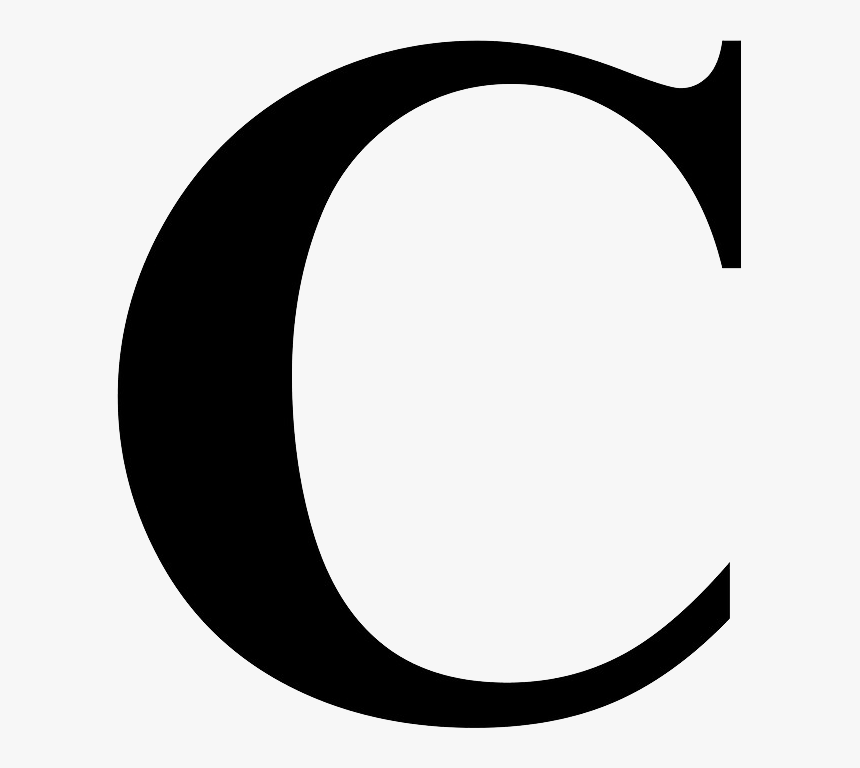 C Letter Png Free Image Letter C Times New Roman Transparent
