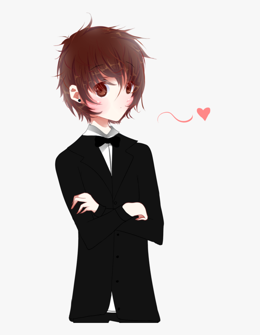 Clip Download Boy Transparent Cute - Anime Cute Boy, HD Png Download, Free Download