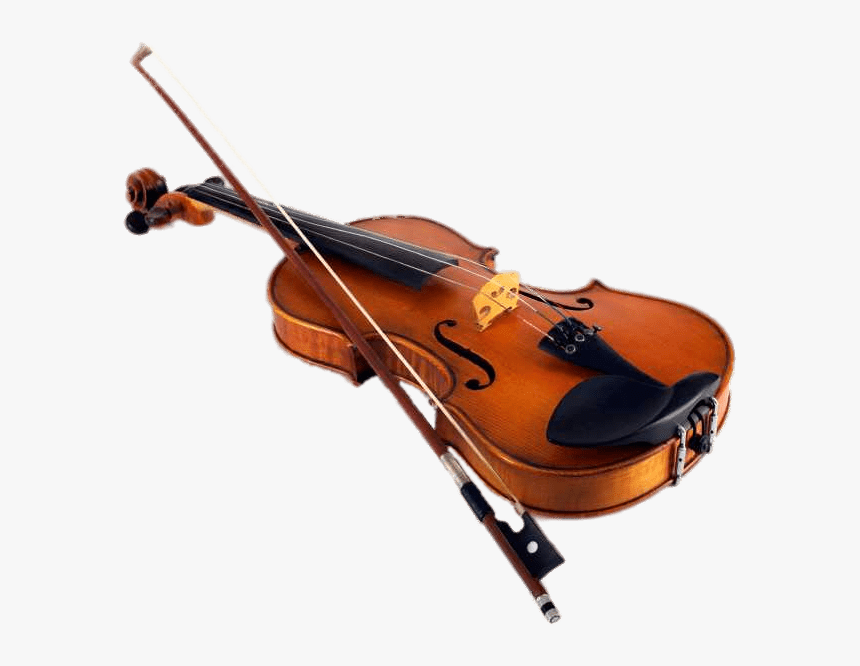 Download Violin & Bow PNG Image for Free
