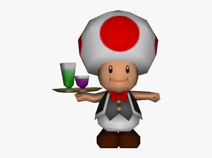 Toad Super Mario 64 Hd Png Download Kindpng