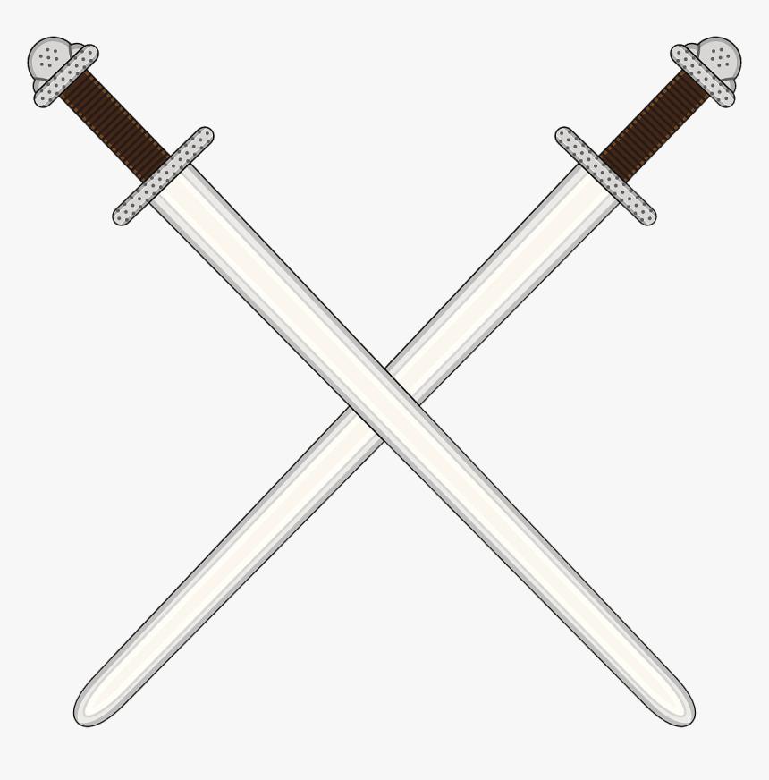 Transparent Sword Drawing Png - 2 Swords Crossing Png, Png Download, Free Download