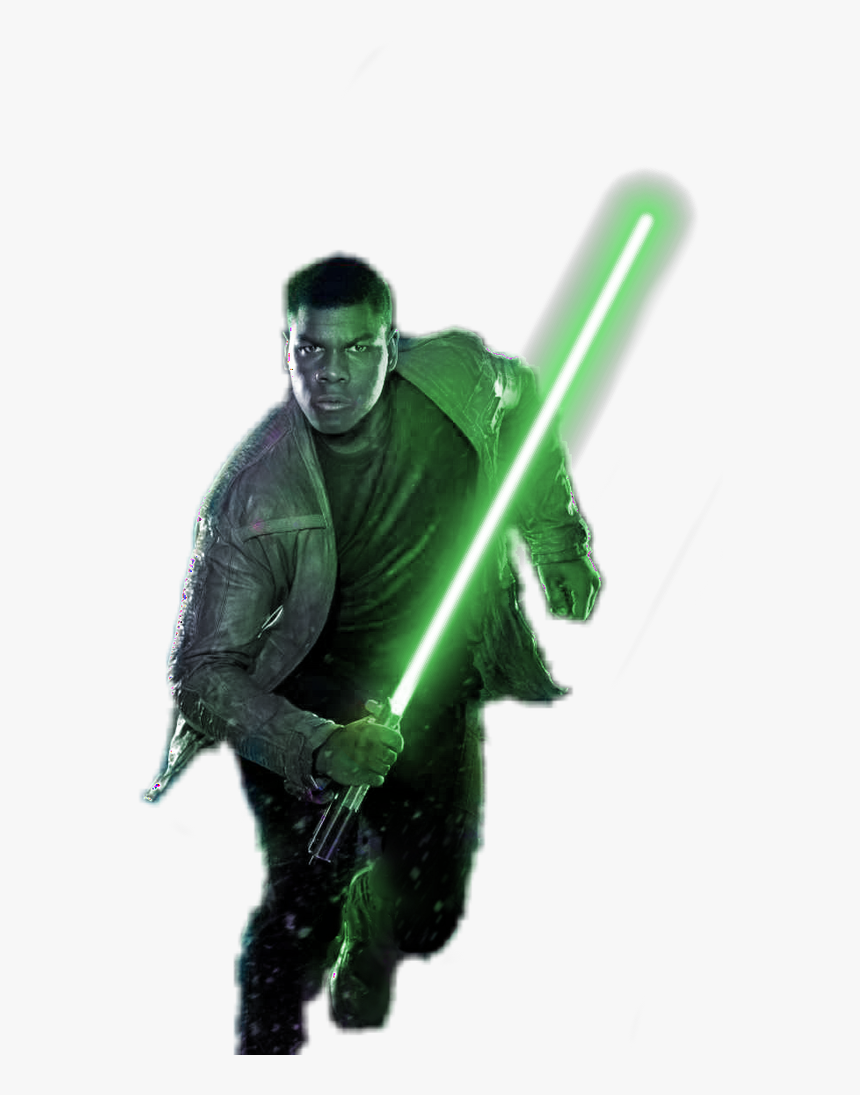 Green Lightsaber Png Finn Star Wars Wallpaper Hd Transparent Png Kindpng