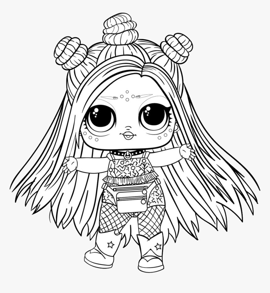 L - O - L - Surprise Doll Png - Lol Surprise Coloring Pages, Transparent  Png - kindpng